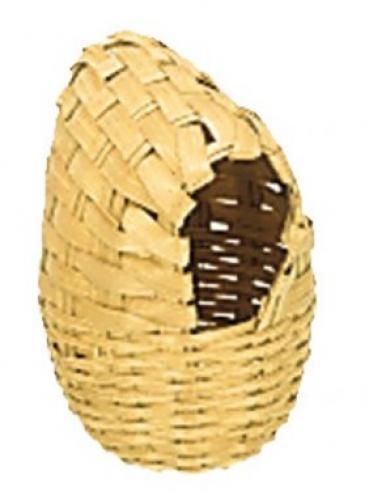 Nobby hnízdící proutìná budka pro exoty 7x11cm