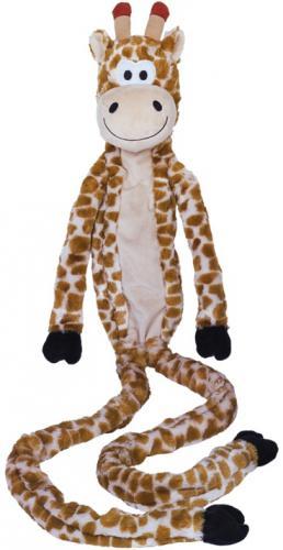Nobby hraèka plyšový žirafa pro psy 113 cm s lanem