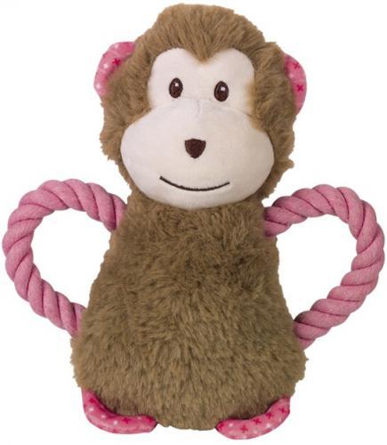 Nobby hraèka plyšový opice pro psy 21 cm s lanem