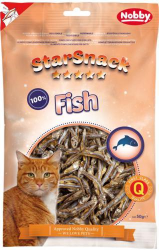 Nobby StarSnack Cat sušené rybièky anèovièky 85g