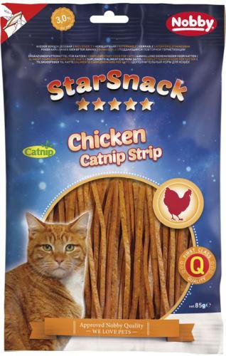 Nobby StarSnack pamlsky pro koèky catnipové proužky 85g
