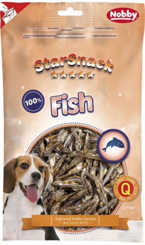Nobby StarSnack Dog sušené rybièky anèovièky 113g