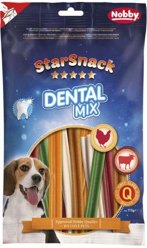 Nobby StarSnack Dental Mix dentální tyèinky 113g