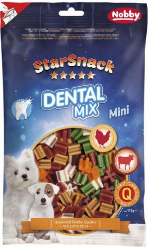 Nobby StarSnack Dental Mix dentální tyèinky mini 113g
