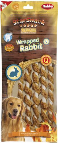 Nobby StarSnack BBQ Wrapped Rabbit L pamlsky 25cm 5ks 144g