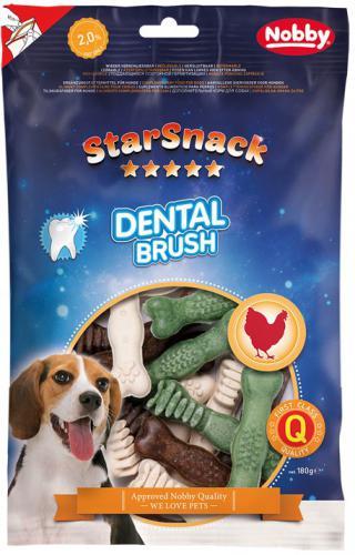 Nobby StarSnack Dental Brush dentální pamlsky 180g