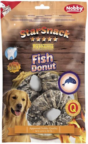 Nobby StarSnack BBQ Fish Donut pamlsky pro psy 220 g/2 ks