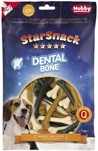 Nobby StarSnack Dental Bone dentální kostièky 8cm / 118g