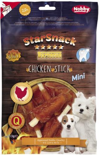 Nobby StarSnack BBQ Chicken Stick Mini kostièky s kuøecím masem 113g