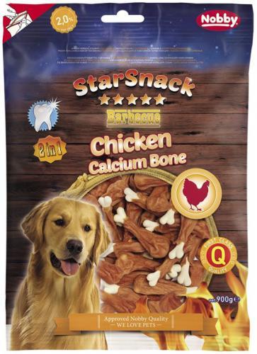 Nobby StarSnack Chicken Calcium Bone kalciová kost s kuøetem 900 g
