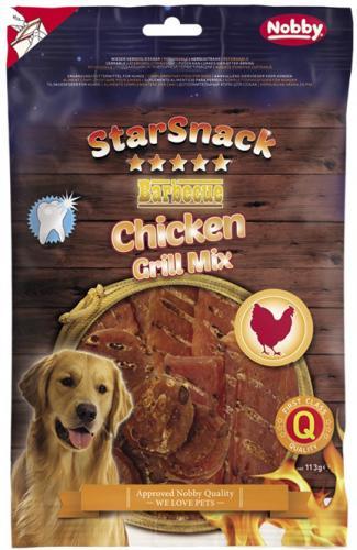 Nobby StarSnack BBQ Chicken Grill Mix pamlsky pro psy 113 g