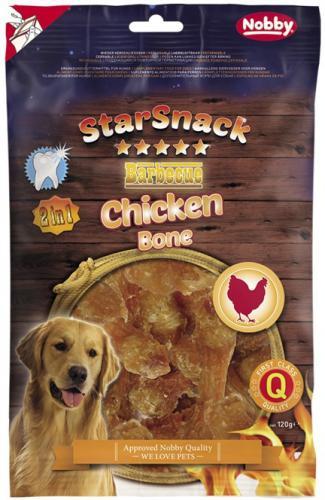 Nobby StarSnack BBQ Chicken Bone pamlsky pro psy 120 g