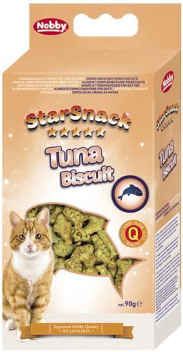 Nobby StarSnack TUNA BISCUIT tuòákové sušenky 90g