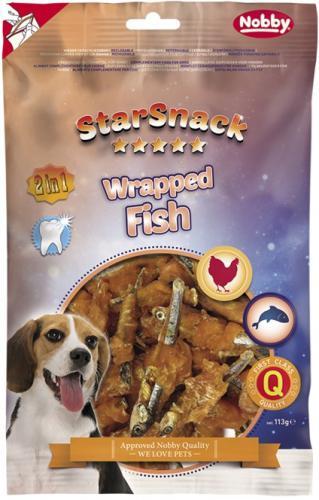 Nobby StarSnack Wrapped Fish pamlsky pro psy 113 g