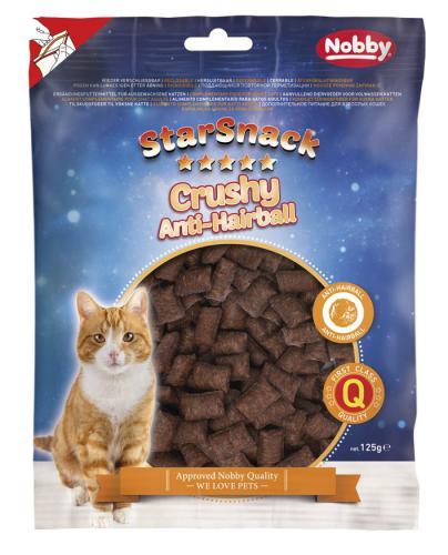 Nobby StarSnack Cat Crushy Anti-Hairball køupavé polštáøky 125g