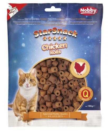Nobby StarSnack Cat Chicken Rolls pamlsky 180g