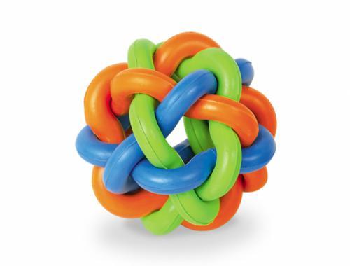Nobby Ruber Line gumový propletený míè 9,5cm