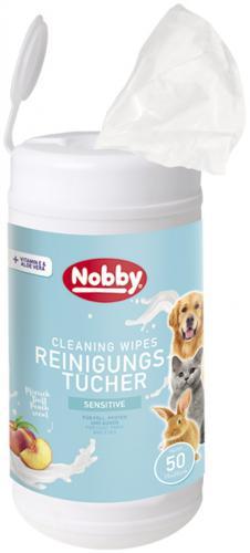 Nobby vlhèené ubrousky pro psy a koèky tuba 50ks
