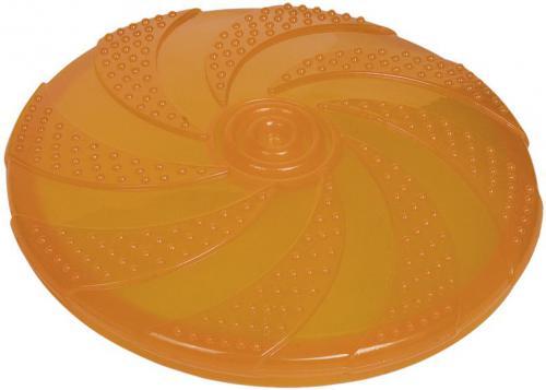 Nobby gumová hraèka pro psa frisbee oranžové 18,5 cm