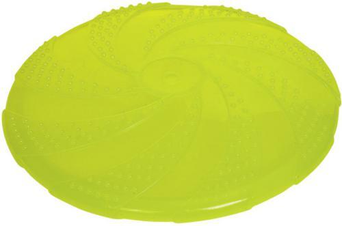 Nobby gumová hraèka pro psa frisbee žluté 22 cm