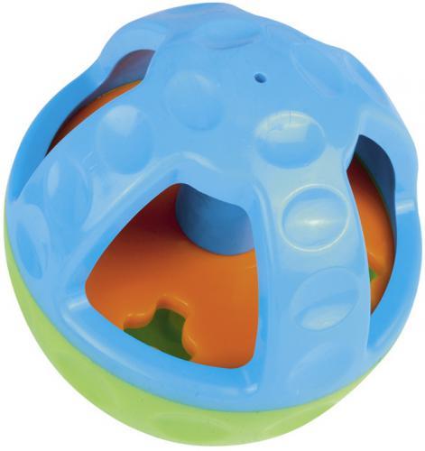 Nobby Active silná hraèka s otvorem na pamlsky a zvukem 13 cm