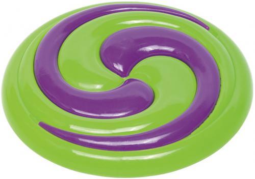 Nobby hraèka pro psy termoplastická guma frisbee Hypno 22cm
