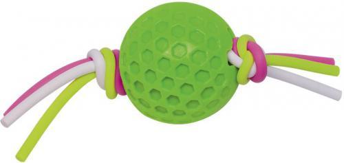 Nobby hraèka TPR míèek se silikonovým lanem zelená