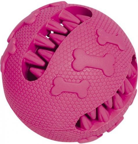 Nobby hraèka dentální míè pro psy 7 cm rùžový