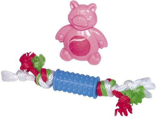 Nobby Puppy set hraèek TPR pro malé pejsky 2 ks