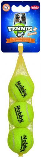 Nobby hraèka tenisový míèek S pískátko 5cm 3ks