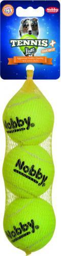 Nobby hraèka tenisový míèek M pískátko 6,5cm 3ks