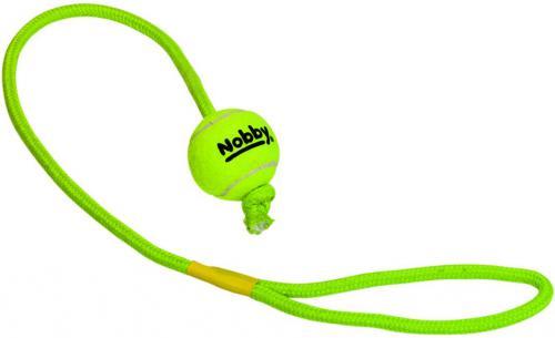 Nobby hraèka tenisový míèek S 5cm s lanem 70cm