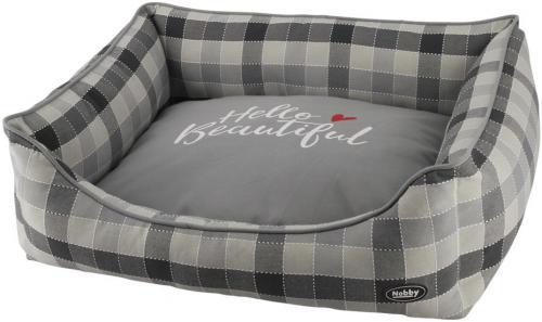 Nobby CAMPO obdelníkový pelíšek šedý 60x48x19cm