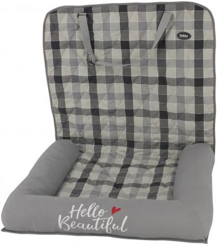 Nobby CAMPO pelíšek do auta šedá 60x45x60cm