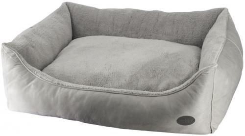 Nobby FEDO obdelníkový pelíšek šedý 120x95x26cm