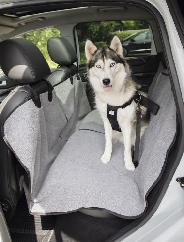 Nobby ochranný potah na zadní sedaèky auta šedý 145x160cm