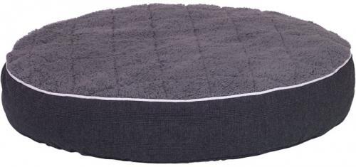 Nobby Osso ortopedická kulatá matrace pro psy tmavì šedá 90 x 15 cm