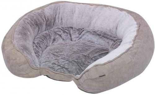 Nobby Classic ortopedický pelíšek Napo hnìdá pamì�ová pìna 97 x 76 x 21 cm