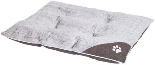 Nobby Classic obdelníkový polštáø Sama svìtle šedá 80 x 60 x 10 cm
