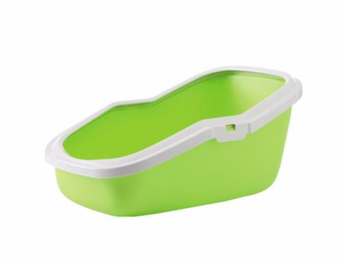 Savic Aseo zelená toaleta 56 x 39 x 27,5 cm