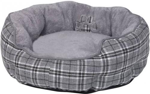 Nobby Classic KAPU kulatý pelíšek šedá 50x19cm