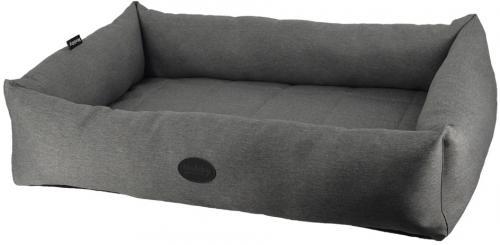 Nobby PUTU obdelníkový odolný pelíšek šedá 90x63x20cm