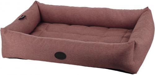 Nobby PUTU obdelníkový odolný pelíšek rùžová 70x52x13cm