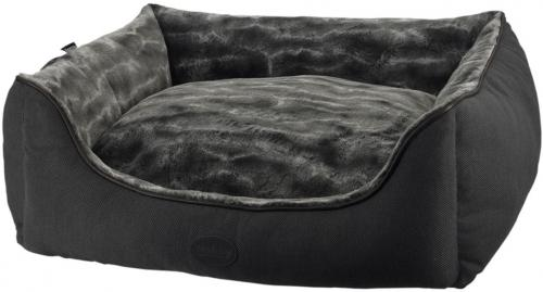 Nobby DIAN obdelníkový pelíšek tmavì šedý 80x70x23cm