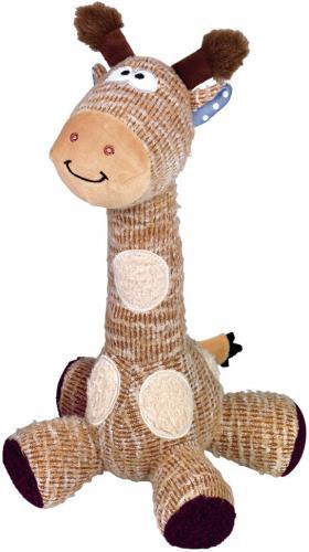 Nobby hraèka pro psy žirafa s pískátkem 33 cm
