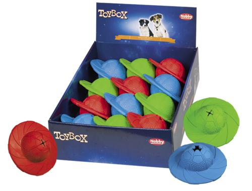 Nobby TOYBOX gumová hraèka Snack-Disc 14cm 12ks