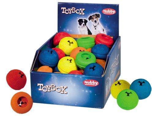 Nobby TOYBOX gumová hraèka Snack-Toy 6cm 36ks
