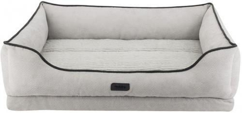 Nobby LAGO ortopedický obdelníkový pelíšek svìtle šedá 71x56x5/16cm