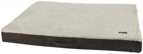 Nobby ortopedická matrace Lanin pro psy hnìdá 80 x 60 x 8 cm