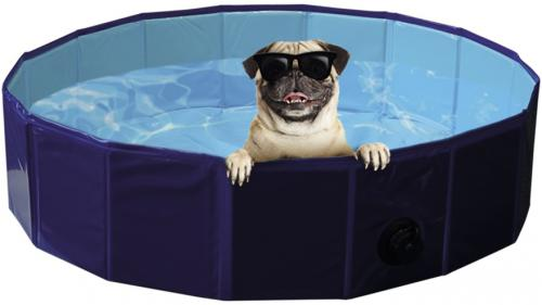 Nobby bazén pro psa skládací modrý S 80x20cm